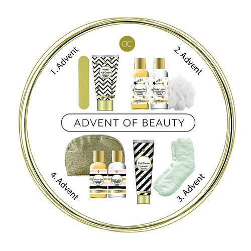 Adventskalender Wellness Geschenkset Advent of Beauty - Adventsbox, Adventsgeschenke
