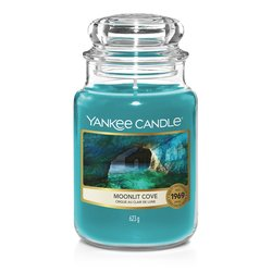 Yankee Candle Duftkerze im Glas (groß) MOONLIT COVE - The...